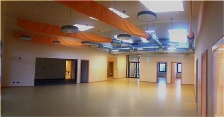 Innenansicht Kindergarten Parndorf - Lüftung