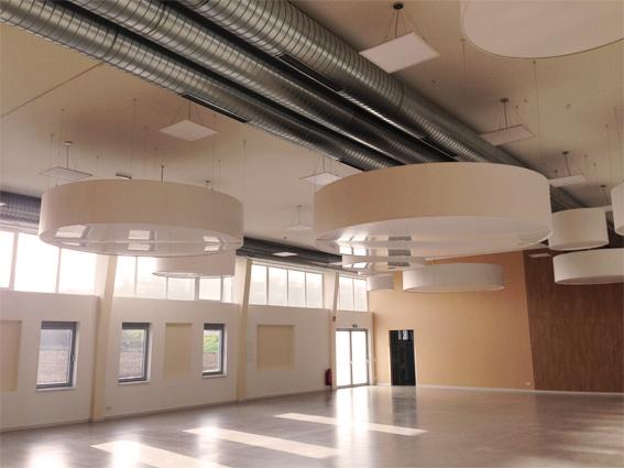 Jubiläumshalle Klingenbach – Lüftung