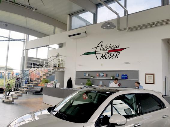 Referenzanlage Klima - Autohaus Moser 2016