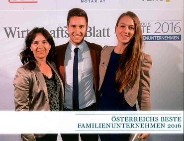 Gesellschafter radel-hahn Klimatechnik auf der Gala des WirtschaftsBlatts