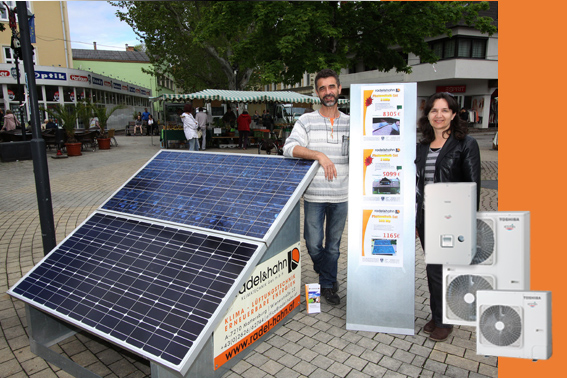Radel & Hahn Kombination Photovoltaik und Waermepumpe
