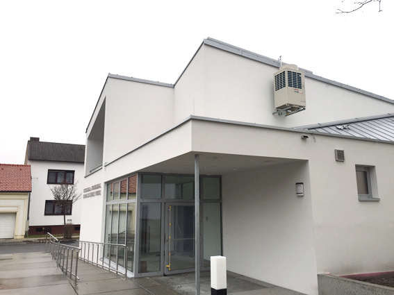 Referenzanlage Amtshauserweiterung Parndorf