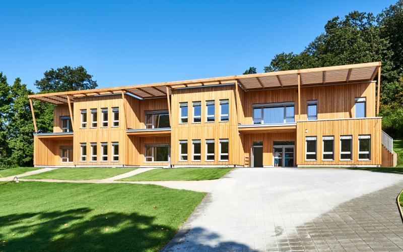 Kindergarten Poetzleinsdorf Foto Erich Reismann_Copyright Handler Bau GmbH