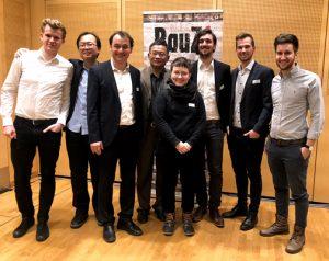 Projektteam FH Technikum Urbane Erneuerbare Technologien mit Philip Hahn