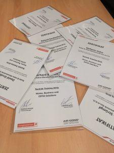Technik Zertifikat für Radel&Hahn