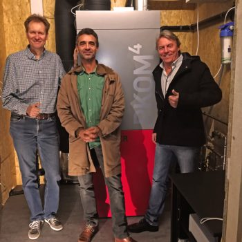 b.Home und Radel&Hahn V.l.n.r.: Dr. Magnus Endress, Ewald Radel und Wolfgang Rumpolt