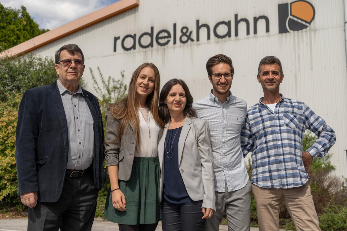 Die Gesellschafter von Radel & Hahn